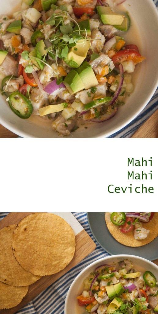Mahi Mahi Ceviche- The Seasonal Junkie