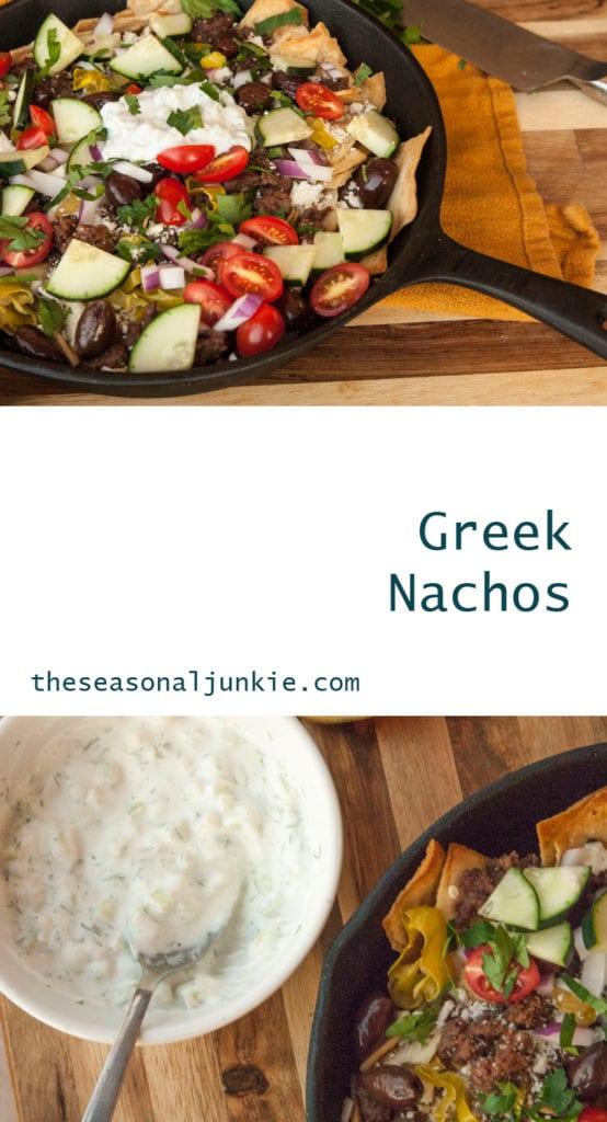 Greek Nachos- The Seasonal Junkie