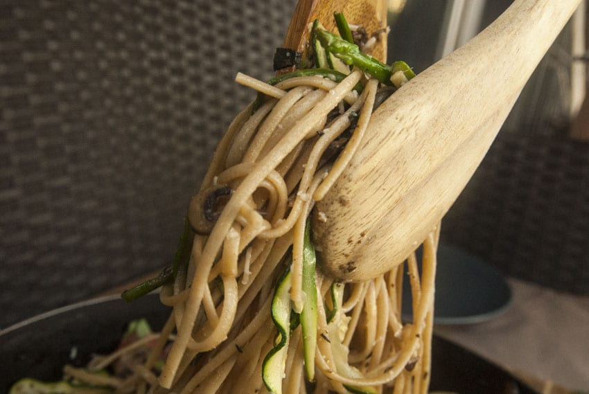 Healthy Pasta Primavera-The Seasonal Junkie