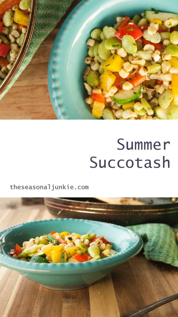 Summer Succotash- The Seasonal Junkie