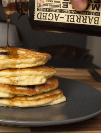 Blueberry Protein Pancakes- The Seasonal Junkie