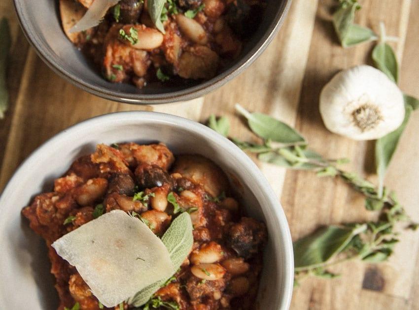 Chicken Sausage Ragu- The Seasonal Junkie