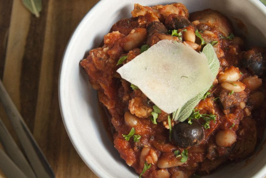 Chicken Sausage Ragu- The Seasonal Junkie