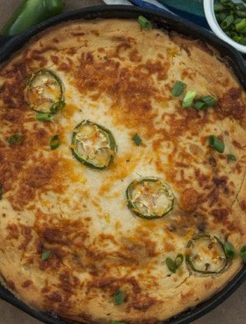 Chicken Tamale Pie - The Seasonal Junkie