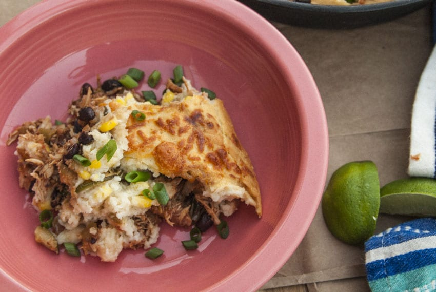 Chicken Tamale Pie - The Seasonal Junkie