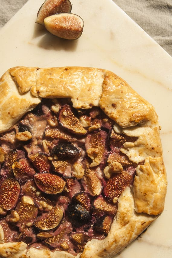 Fig Galette- The Seasonal Junkie