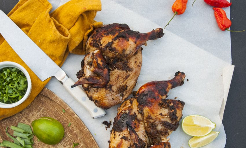 Oven Roasted Jerk Chicken- The Seasonal Junkie