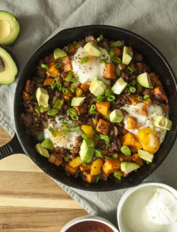 Sweet PotatoSweet Potato Chorizo Hash- The Seasonal Junkie Chorizo Hash