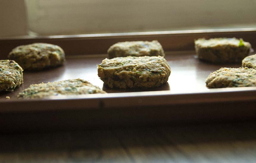 Easy Falafel Patties- The Seasonal Junkie
