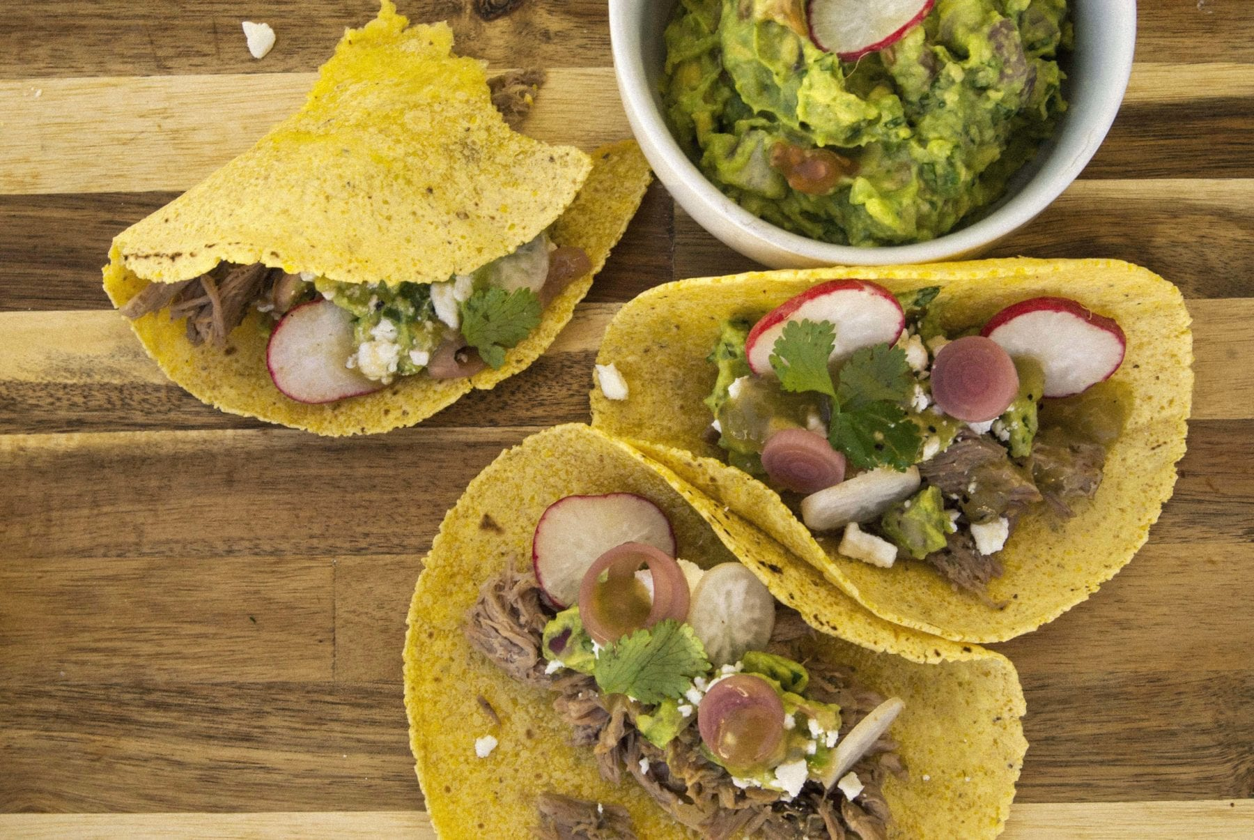 Green Chili Pork Tacos- The Seasonal Junkie