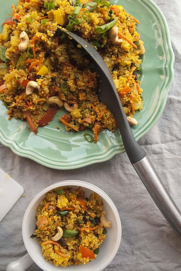 Pineapple Fried Rice- The Seasonal Junkie