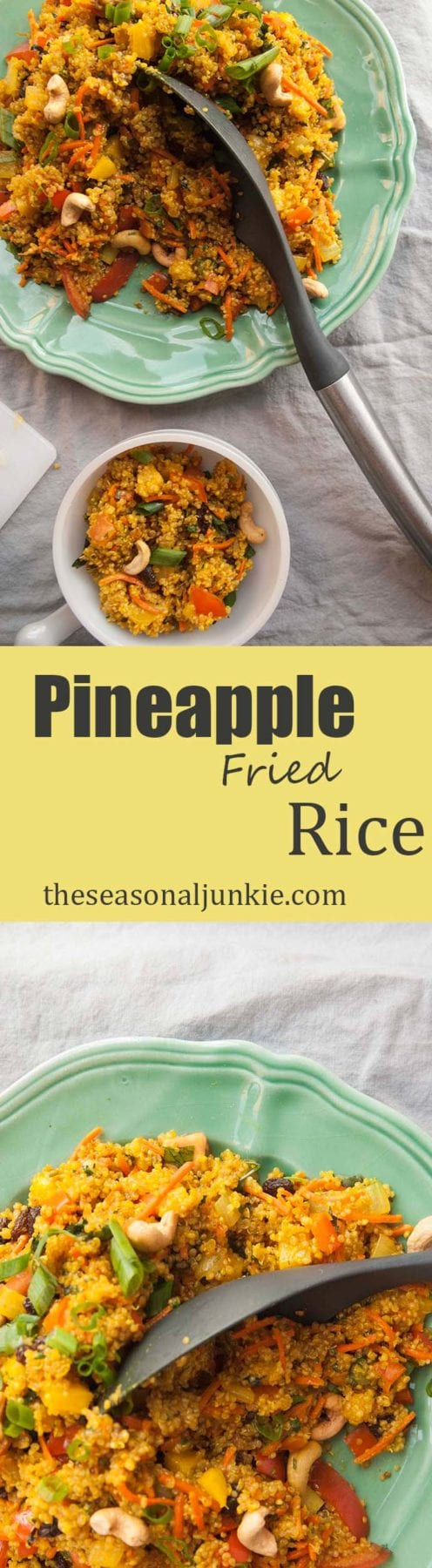 Pineapple Fried Rice-The Seasonal Junkie
