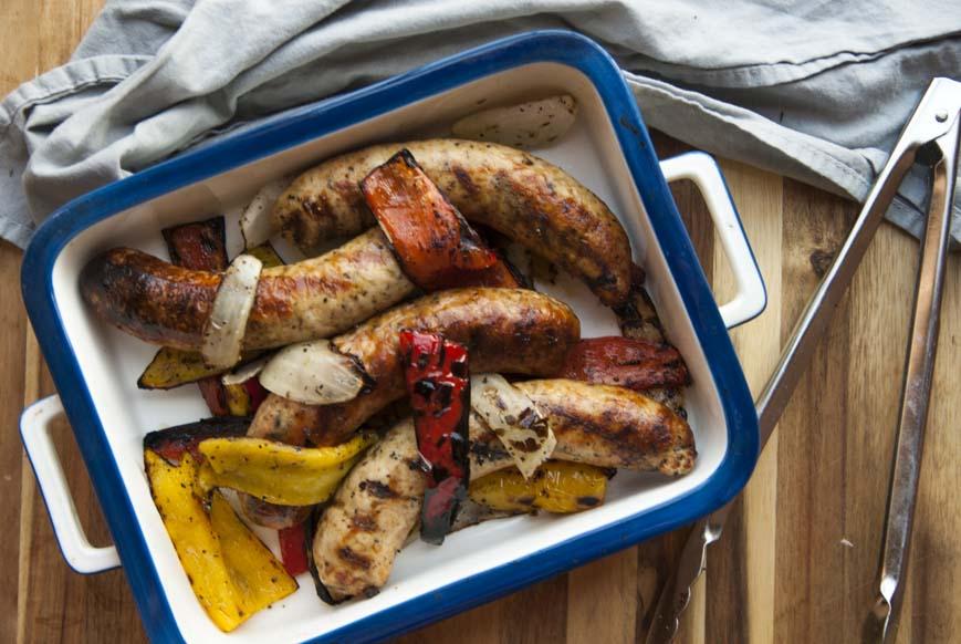 Chicken Sausage- The Seasonal Junkie