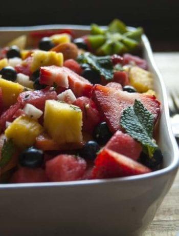 Summer Fruit Salad- The Seasonal Junkie