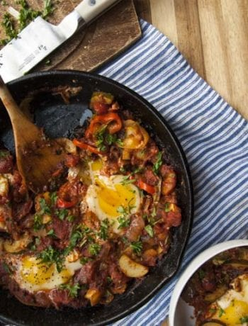 Easy Shakshuka Recipe- The Seasonal Junkie