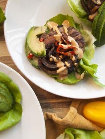 Hatch Chili Burger- The Seasonal Junkie