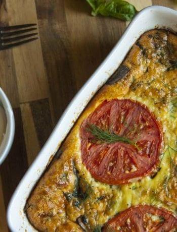 Tomato Quiche- The Seasonal Junkie