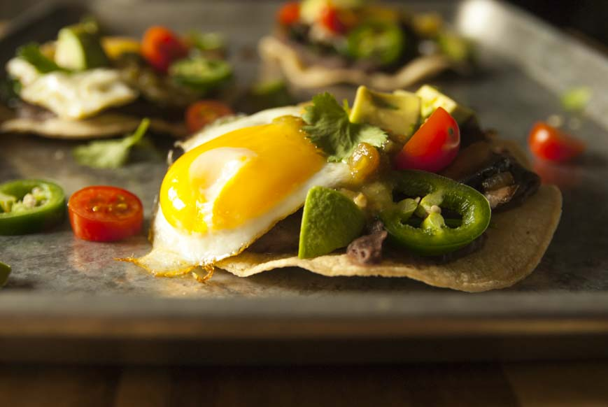 Breakfast Tostadas- The Seasonal Junkie