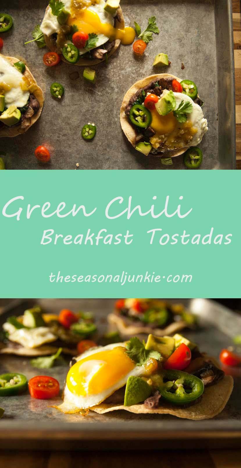 Breakfast Tostadas-The Seasonal Junkie