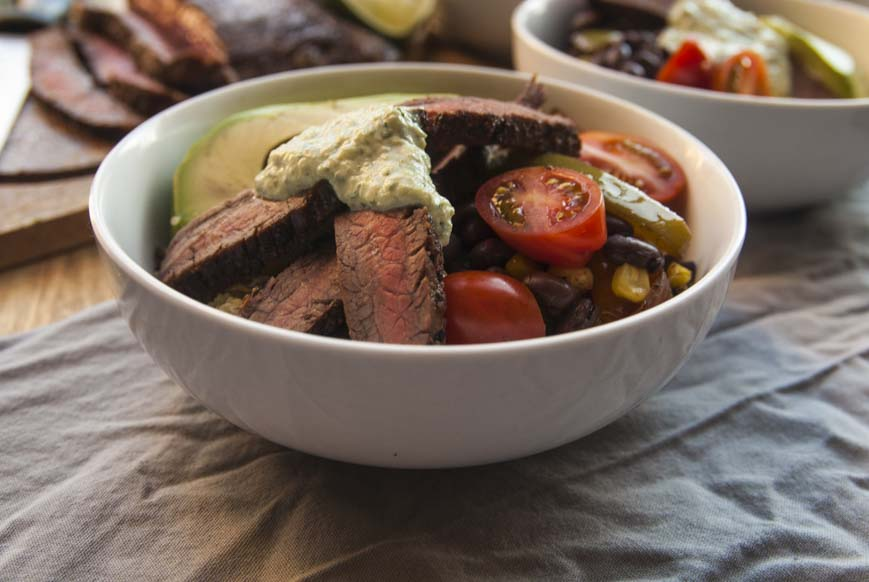 Steak Fajitas- The Seasonal Junkie