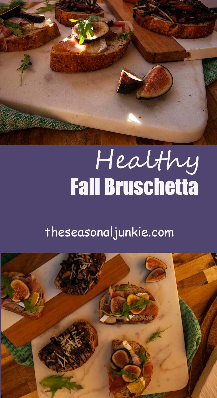 Healthy Bruschetta-The Seasonal Junkie