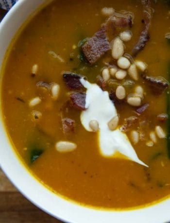 Pumpkin Soup-The Seasonal Junkie