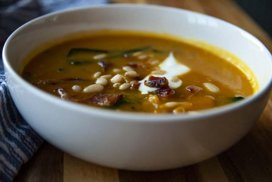 Pumpkin Soup-The Seasonal Junkie