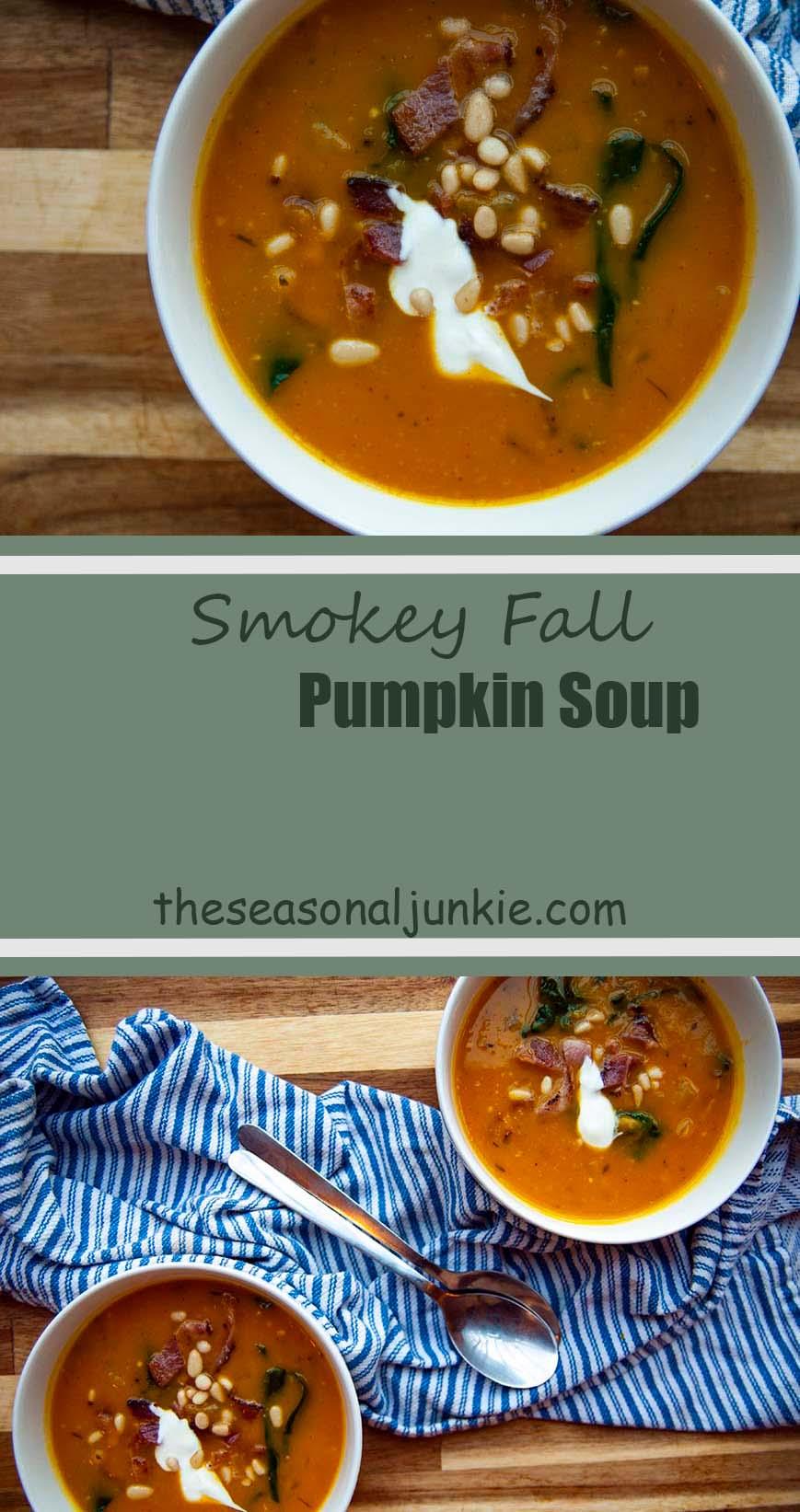 Pumpkin Soup- The Seasonal Junkie