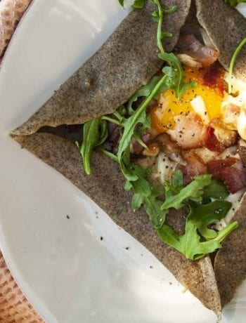 Savory Crepes- The Seasonal Junkie