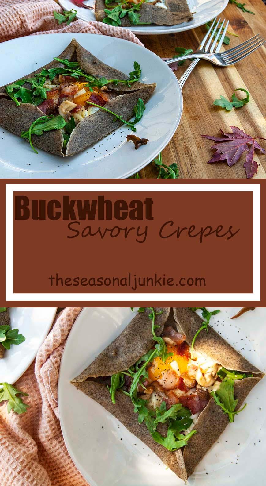 Savory Crepes-The Seasonal Junkie
