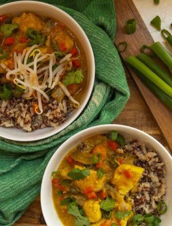 Easy Coconut Curry- The Seasonal Junkie