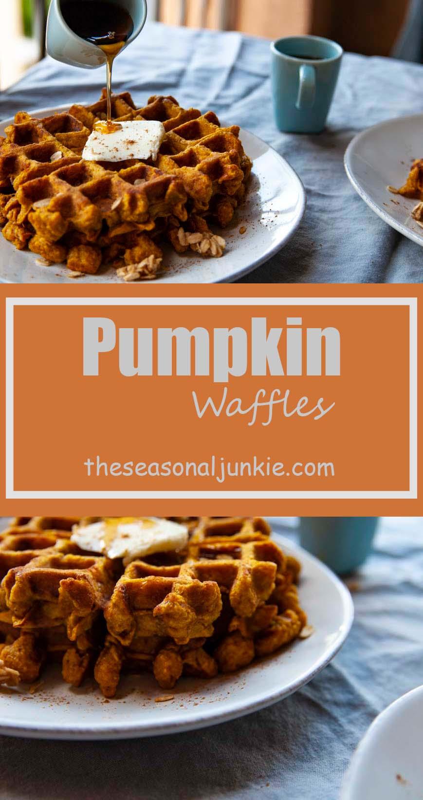 Pumpkin Waffles The Seasonal Junkie