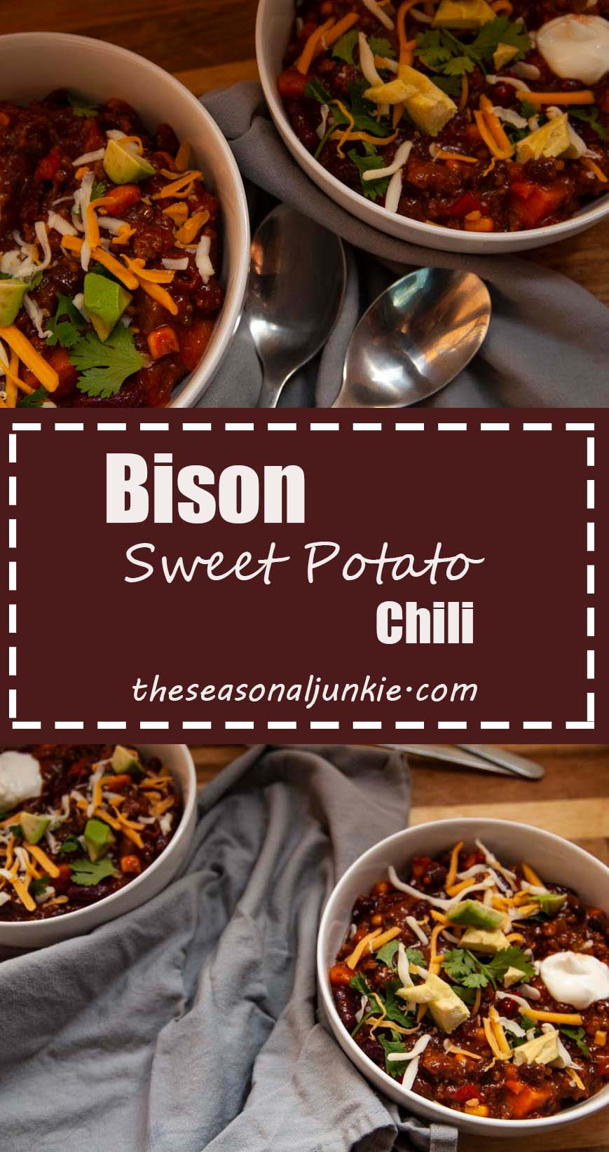 Sweet Potato Chili-The seasonal junkie