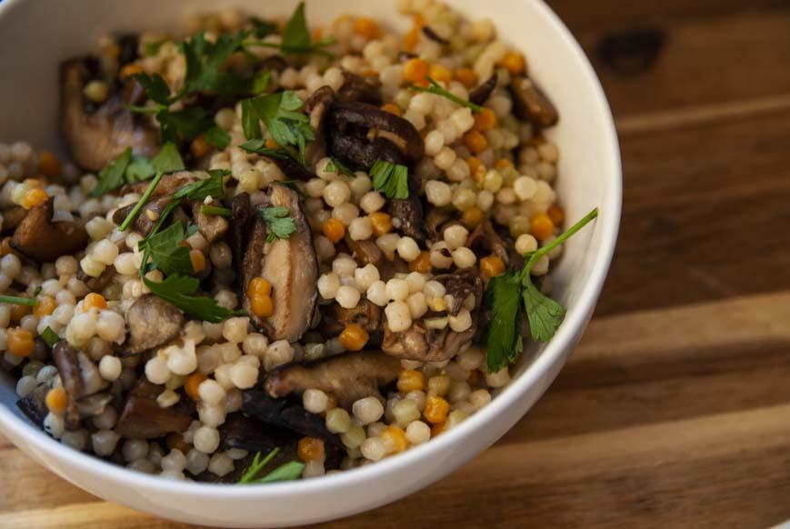 Mushroom Coucous-The Seasonal Junkie