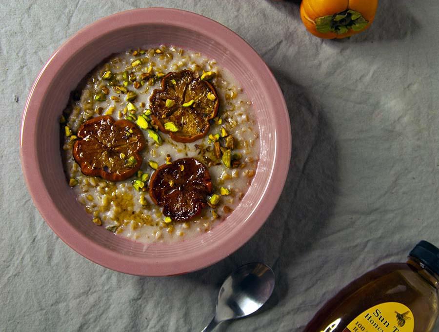 Barley Porridge-The Seasonal Junkie