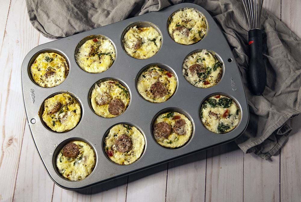 Egg Muffins in Muffin Tin
