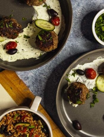 Mediterranean Meatballs- The Seasonal Junkie.