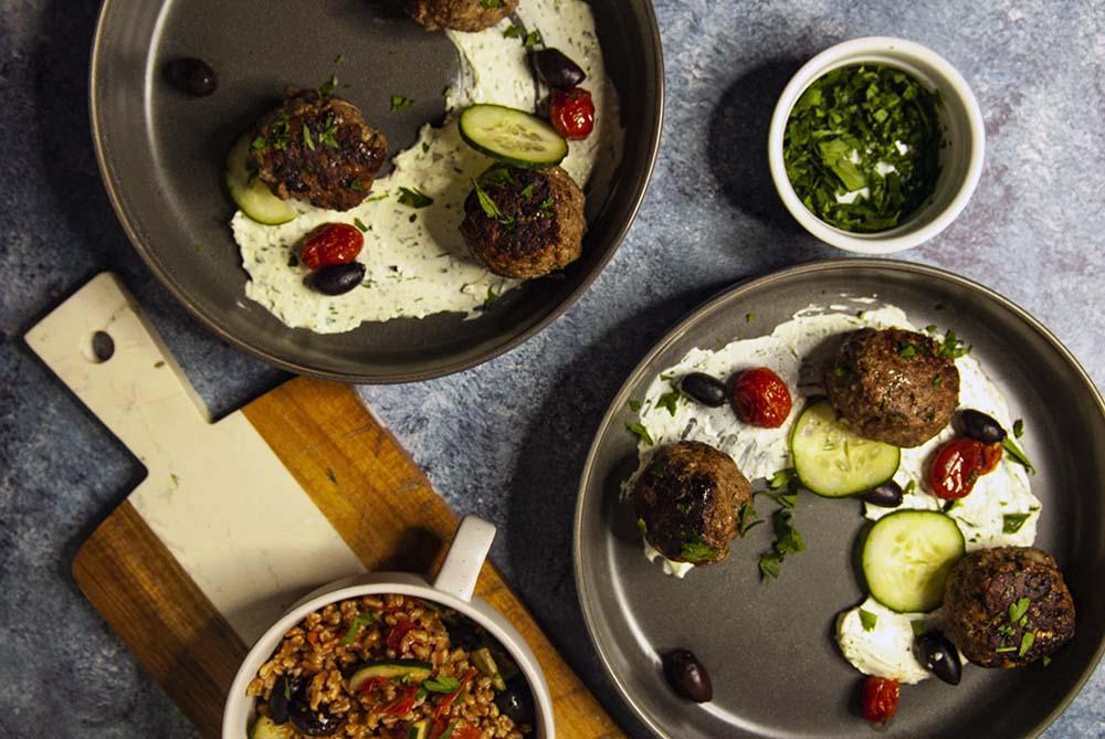 Mediterranean Meatballs- The Seasonal Junkie.