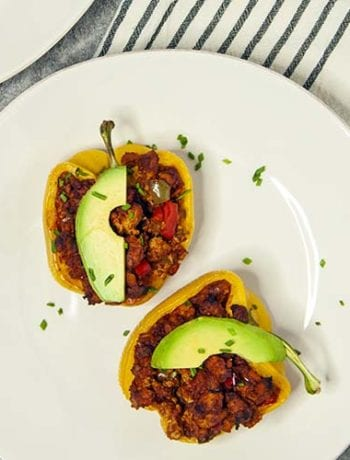 Sloppy Joe Stuffed Peppers- The Seasonal Junkie
