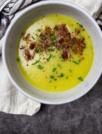 Yukon Gold Potato Soup- The Seasonal Junkie