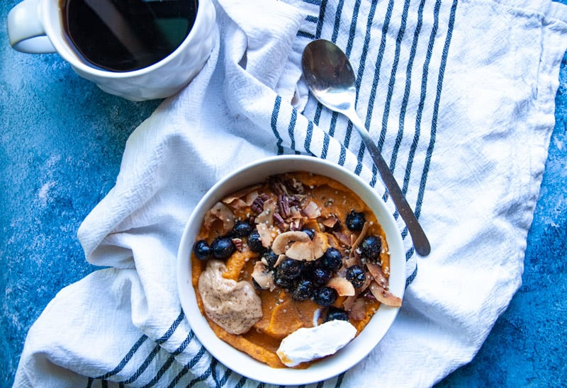 Sweet Potato Breakfast Bowl- The Seasonal Junkie