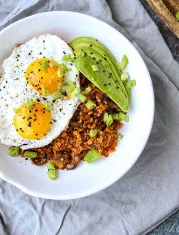 Kimchi Fried Rice-The Seasonal Junkie