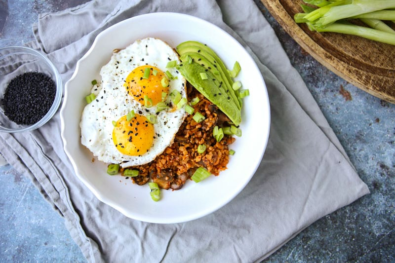 Kimchi Fried Rice-The Seasonal Junkie
