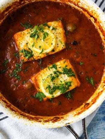 Poached Fish Recipe- The Seasonal Junkie