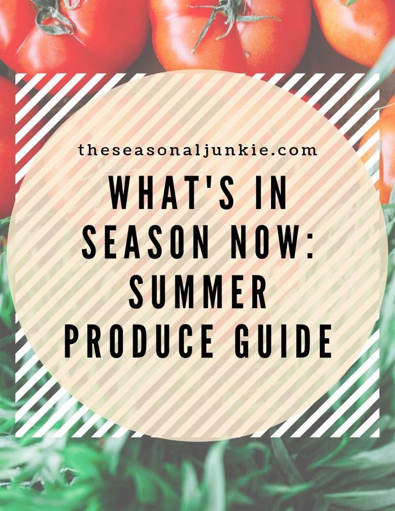 Pinterest Icon for Seasonal Summer Food