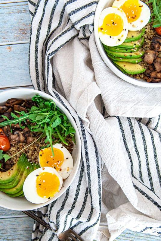 Two Breakfast bowls