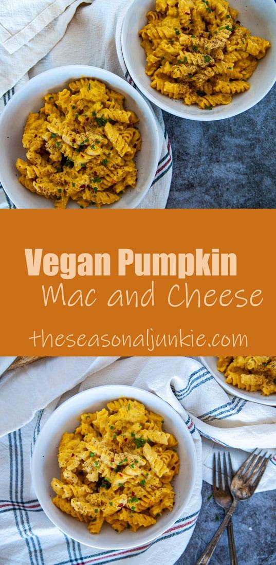 PInterest Vegan Mac and Cheese Image