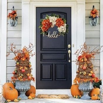 Fall Wreath for November Decorating