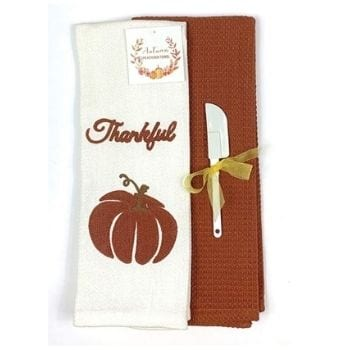 Kitchen Towels perfect for November Decorations