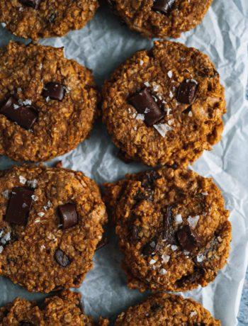 Chocolate Chunk Pumpkin Breakfast Cookie